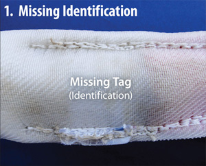 Missing Identification/Missing Tag